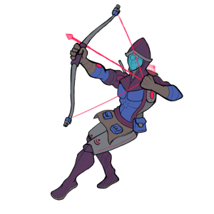 Net King's Call Archer character concept